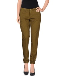 Berwich Casual Pants Military Green
