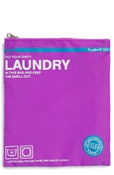 Flight 001 'Go Clean' Nylon Laundry Travel Pouch