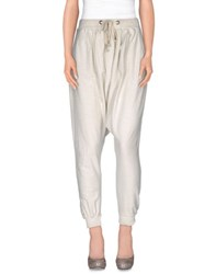 Imperial Star Imperial Trousers Casual Trousers Women Light Grey