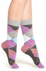 Happy Socks Women's Argyle Crew