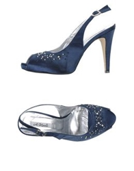 Andrea Morelli Sandals Dark Blue