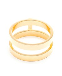 Repossi 18K Yellow Gold Berbere Ring Yellow Black