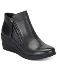 Sofft Salem Wedge Booties Women's Shoes Black