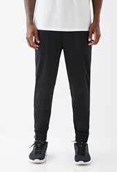 Forever 21 Mesh Patch Pocket Sweatpants Black