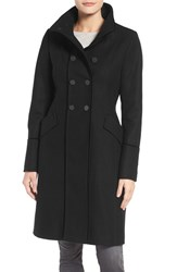 Tahari Women's Alice Wool Blend Officer's Coat