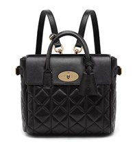 Mulberry Cara Mini Quilted Nappa Backpack Female