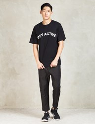 Pam P.A.M. Black Psy Active T Shirt