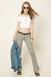Forever 21 Marled Flared Pants