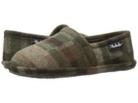 Woolrich Chatham Chill Camo Wool Men's Slippers Brown