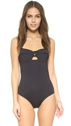 Tavik Jean Demi Underwire One Piece Swimsuit Black