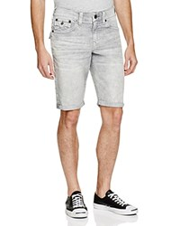 True Religion Ricky Relaxed Fit Corduroy Shorts Old Gray