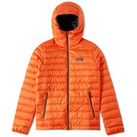 Patagonia Down Sweater Hoody Orange