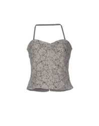 Caractere Topwear Tops Women Grey