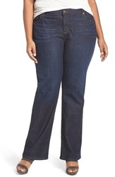 Eileen Fisher Plus Size Women's Stretch Organic Cotton Bootcut Jeans