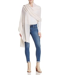 Bloomingdale's C By Cashmere Travel Wrap Snow