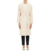 Tomorrowland Shaggy' Overcoat Beige