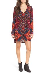 Billabong Women's 'Moongazer' Print Woven Dress Multi