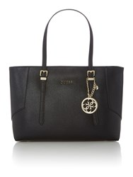 Guess Isabeau Black Large Tote Bag Black