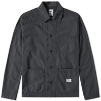 Bedwin And The Heartbreakers Nick Military Coverall Jacket Black