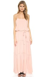 Free People Valarie Solid Maxi Dress Peach
