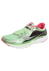 Saucony Kinvara 5 Lightweight Running Shoes Mint Cherry Light Green