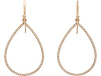 Irene Neuwirth Women's Pear Shaped Cutout Earrings No Color