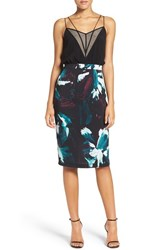 Chelsea 28 Women's Chelsea28 Strappy Print Dress
