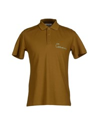Carven Topwear Polo Shirts Men Khaki