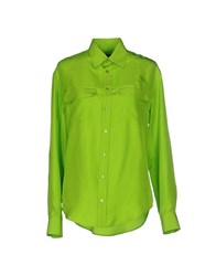 Ralph Lauren Black Label Shirts Shirts Women Acid Green