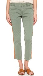 Nili Lotan East Hampton Pants With Tape Camo With Red Tape