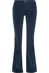 Alice Olivia Stacey Stretch Corduroy Flared Pants