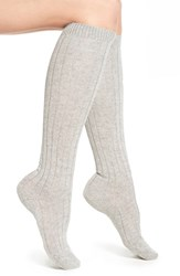 Women's Pantherella 'Tabitha' Cashmere Blend Knee Socks Grey Lt Grey