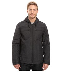 Prana Holmes Jacket Black Heather Men's Coat
