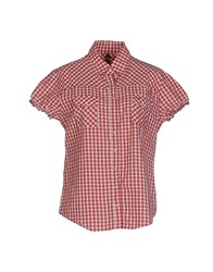 Sun 68 Shirts Shirts Women Brick Red