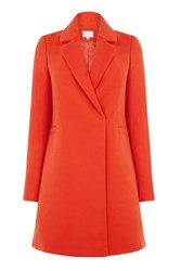 Warehouse Clean Db Coat Red