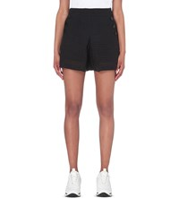 Izzue Buttoned Lace Shorts Black