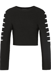 Cushnie Et Ochs Cutout Stretch Knit Top
