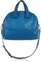 Givenchy Medium Nightingale Bag In Cobalt Blue Leather
