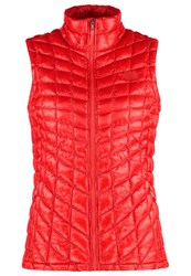 The North Face Thermoball Waistcoat High Risk Red