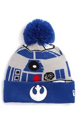 Men's New Era Cap 'Star Wars R2d2' Pompom Knit Beanie