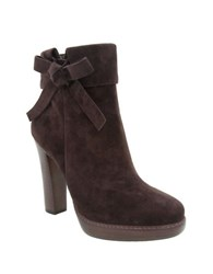 Nina Nell Leather And Suede Ankle Boots Bittersweet