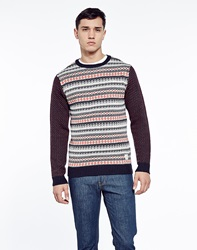 The Native Youth Native Youth Jumper In Fairisle Knit