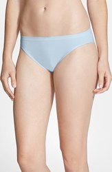 Nordstrom Women's Lingerie Seamless High Cut Briefs Blue Cashmere