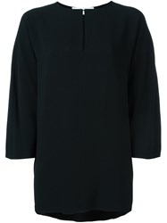 Gianluca Capannolo Relaxed Fit Blouse Black