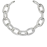 Jennifer Fisher Women's Xl Chain Link Choker No Color