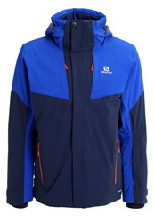Salomon Icerocket Ski Jacket Big Blue Blue Yonder Dark Blue