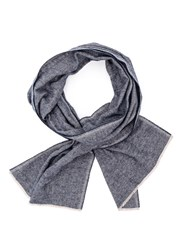 Oliver Spencer Navy Rover Scarf