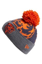 Men's New Era Cap 'Logo Whiz Chicago Bears' Pompom Knit Beanie