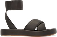 Rag And Bone Black Leather Venus Sandals