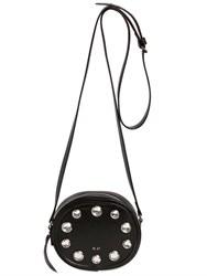 N 21 Shiny Leather Bag With Crystals